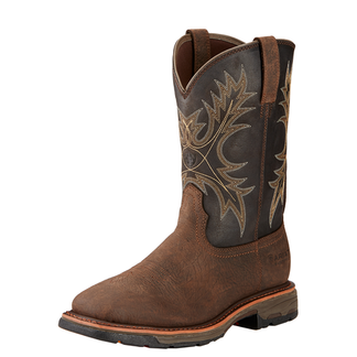 ARIAT WORKHOG H2O MEN'S WORK PULL ON BOOT-10017436