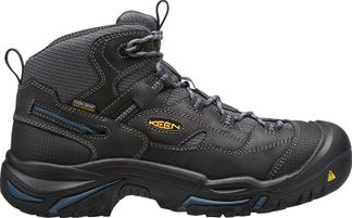 """KEEN UTILITY BRADDOCK MID WP MEN'S WORK 6"""" LACE UP BOOT-1014605"""