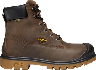 """KEEN UTILITY BALTIMORE WP MEN'S WORK SOFT TOE 6"""" LACE UP BOOT-1018666"""