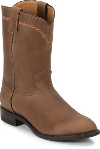 JUSTIN BAY APACHE ROPER MEN'S WESTERN BOOT-3508
