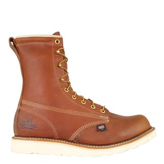"""THOROGOOD AMERICAN HERITAGE MEN'S WORK SOFT TOE 8"""" LACE UP BOOT-814-4364"""