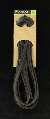 M&F WESTERN ARIAT LEATHER BLACK LACES-A2302801