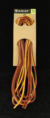 M&F WESTERN ARIAT LEATHER TAN LACES-A2302808