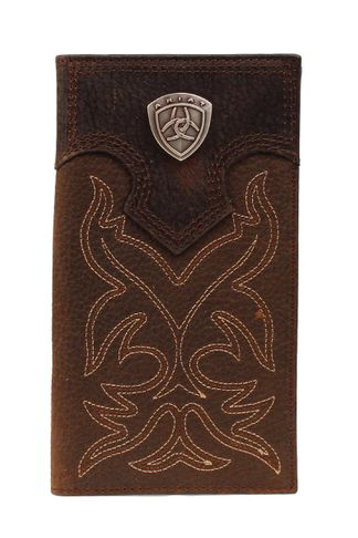 M&F RODEO BOOT STCH SHIELD BR WALLET-A3510802