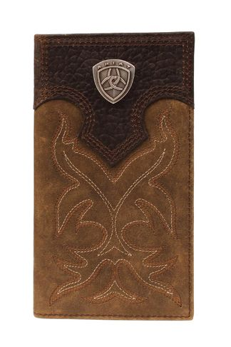 M&F RODEO BOOT STCH SHIELD MB WALLET-A3510844