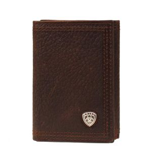M&F TFOLD SHIELD SM BR RWDY WALLET-A35122282