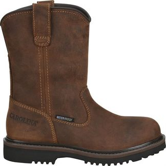 CAROLINA KIDS WATERPROOF LOGGER KID'S WORK BOOT-CA2000