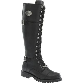 HARLEY DAVIDSON BEECHWOOD WOMEN'S MOTORCYCLE LACE UP BOOT-D83856