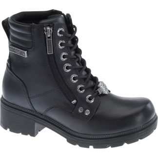 HARLEY DAVIDSON INMAN WOMEN'S MOTORCYCLE LACE UP BOOT-D83877