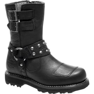 HARLEY DAVIDSON MARMORA WOMEN'S MOTORCYCLE LACE UP BOOT-D84058