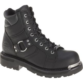 HARLEY DAVIDSON MADDY WOMEN'S MOTORCYCLE LACE UP BOOT-D84189