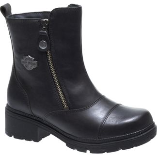 HARLEY DAVIDSON AMHERST WOMEN'S MOTORCYCLE LACE UP BOOT-D84236