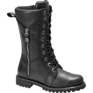 HARLEY DAVIDSON HARNETT WOMEN'S MOTORCYCLE LACE UP BOOT-D84472