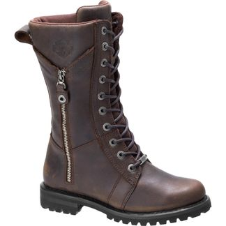 HARLEY DAVIDSON HARNETT WOMEN'S MOTORCYCLE LACE UP BOOT- D84473