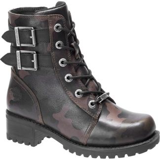 HARLEY DAVIDSON FAIRVIEW WOMEN'S MOTORCYCLE LACE UP BOOT-D84546