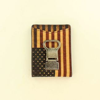 M&F MONEY CLIP VNTG USAFLAG WALLET-N5416797