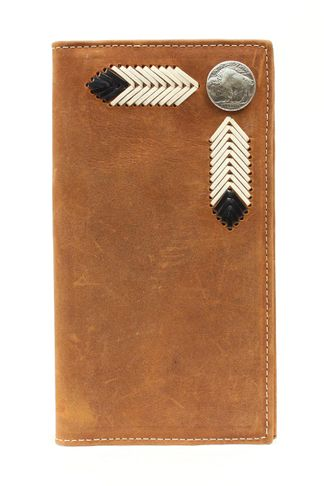 M&F RODEO W/BUFFALO NCKL MB WALLET-N5434044
