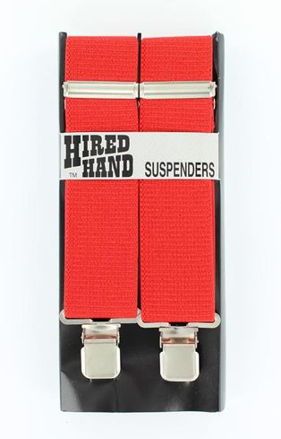 M&F SUSPENDERS 48 RED MISCELLANEOUS-N8510004