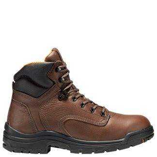 """TIMBERLAND TITAN MEN'S WORK SOFT TOE 6"""" LACE UP BOOT-24097214"""