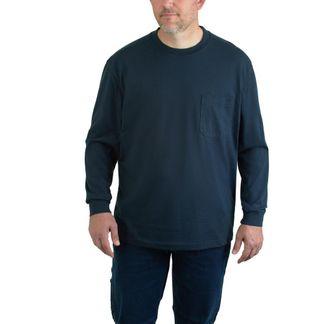 WOLVERINE KNOX LS/DARK NAVY MEN'S WORKWEAR SHIRT-W1203830-423