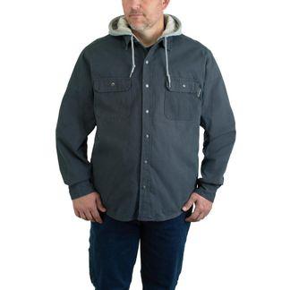WOLVERINE OVERMAN SHIRT JAC/GRANITE MEN'S WORKWEAR SHIRT-W1203890-045