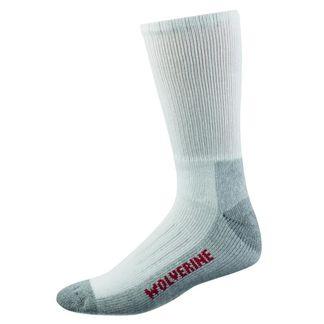 WOLVERINE 2-PACK STEEL TOE COTTON MID-CALF MEN'S SOCKS-W91100270-100