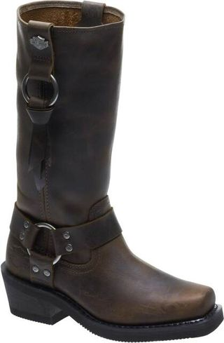 HARLEY DAVIDSON FENMORE WOMEN'S MOTORCYCLE PULL ON BOOT-D84235