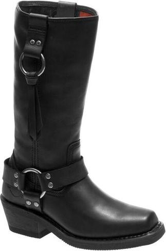 HARLEY DAVIDSON FENMORE WOMEN'S MOTORCYCLE PULL ON BOOT-D84234
