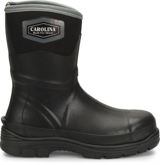 "CAROLINA MUD JUMPER 10"" MEN'S WORK STEEL TOE PULL ON BOOT-CA2201"