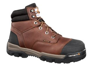 """CARHARTT BOOTS GROUND FORCE MEN'S WORK SOFT TOE 6"""" LACE UP BOOT-CME6055"""
