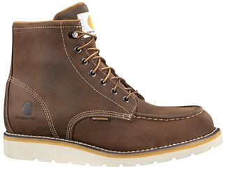 """CARHARTT BOOTS MOC WEDGE WP MEN'S WORK SOFT TOE 6"""" LACE UP BOOT-CMW6095"""