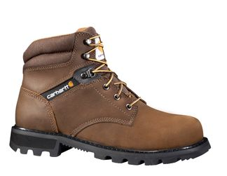 """CARHARTT BOOTS MEN'S WORK SOFT TOE 6"""" LACE UP BOOT-CMW6174"""