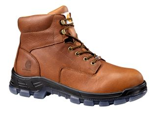 """CARHARTT BOOTS MADE IN THE USA WP MEN'S WORK SOFT TOE 6"""" LACE UP BOOT-CMZ6040"""