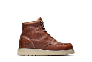 """TIMBERLAND BARSTOW WEDGE MEN'S WORK SOFT TOE 6"""" LACE UP BOOT-89647214"""