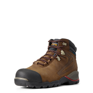 """ARIAT REBAR H2O MEN'S WORK COMP TOE 6"""" LACE UP BOOT-10029484"""