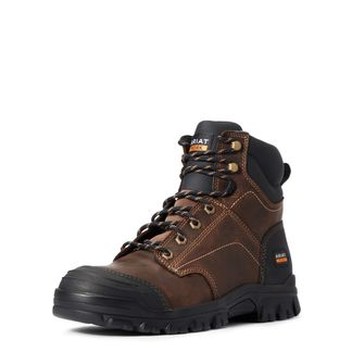 """ARIAT TREADFAST MEN'S WORK SOFT TOE 6"""" LACE UP BOOT-10034672"""