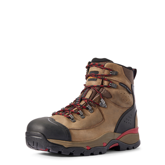 """ARIAT ENDEAVOR H2O MEN'S WORK COMP TOE 6"""" LACE UP BOOT-10031589"""