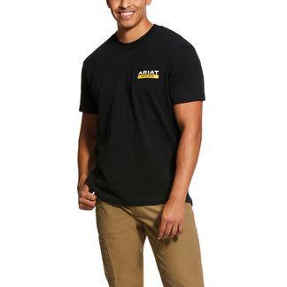 ARIAT REBAR COTTON STRONG ROUGHNECK MEN'S WORKWEAR SHIRT-10030299