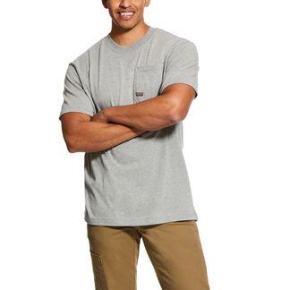 ARIAT REBAR COTTON STRONG AMERICAN GRIT MEN'S WORKWEAR SHIRT-10030328