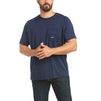 ARIAT REBAR HEAT FIGHTER T-SHIRT MEN'S WORKWEAR SHIRT-10031038