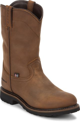 JUSTIN WYOMING WATERPROOF MEN'S WESTERN BOOT-SE4960