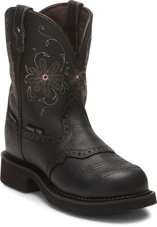 JUSTIN WP WOMEN'S WORK STEEL TOE PULL ON BOOT-GY9982